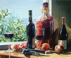 Eric Christensen - Watercolor Paintings - Judith Hale Gallery