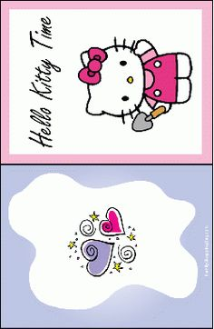Hello Kitty Printable Coloring Pages And Invitations
