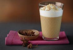Iced Peach coffee By Nespresso Coffee Geek, Iced Coffee, Coffee Shake, Peach Syrup, Pecan Nuts, Chocolate Delight, Banana Split, Cold Meals, Coffee Recipes