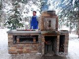 Barbecue Smoker Grill - contemporary - firepits - salt lake city - by Kingbird Design LLC