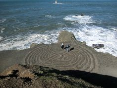 Labyrinth at Land's End #sanfrancisco