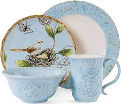 plates and dishes for spring