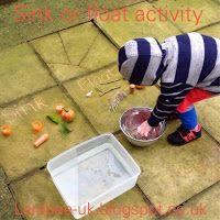 Larabee: |FUN|sink or float activity