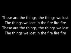 bastille youtube things we lost in the fire