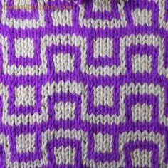 Checkbox knitting stitches