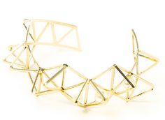 This gold spike cuff bracelet from the #KatyPerryPRISMCollection is perfect for starting the new year off in style!