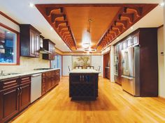 Do you like kitchen island? #luxurylife #vancouver #vancity #interior #design #kitchen #realestate #realto