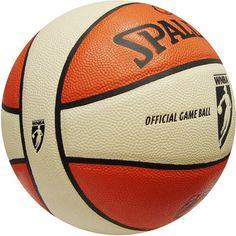 de1cda7082 Balón Spalding WNBA Oficial, con diseño de dos colores de micro-fibra de  cuero