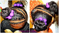 Simple Girls Hairstyle [Video] - https://blackhairinformation.com/video-gallery/simple-girls-hairstyle-video/