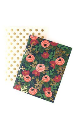 Rifle Paper co. notebooks