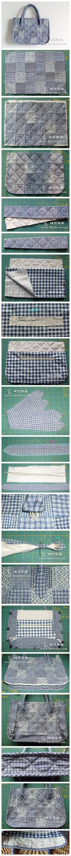 Patchwork bag instructions