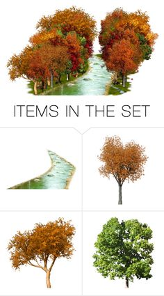 """""""Fall Scenery"""" by littledesigns ❤ liked on Polyvore featuring art"""