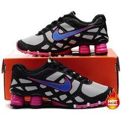 7205955dffce7b Nike Shox -Turbo12 Women Black Pink Blue Nike Shox For Women