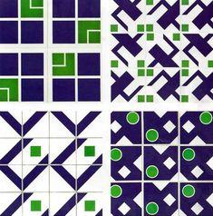 athos bulcão - Pesquisa Google Tile Patterns, Textures Patterns, Print Patterns, Geometric Patterns, Ceramic Mosaic Tile, Mosaic Glass, Unique Tile, Indian Patterns, Gio Ponti