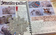 Sketchbook AS Textiles CNC college Sketchbook Layout, Textiles Sketchbook, Gcse Art Sketchbook, Sketchbook Inspiration, Sketchbook Ideas, Michelangelo Artist, Artist Research Page, Textiles Techniques, Art Courses