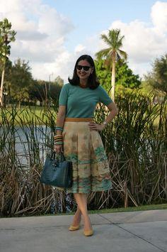 Beautiful skirt, Susana.   A Key to the Armoire.