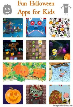 The best Halloween apps for kids -- some scary and many not scary at all!