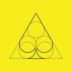 Card suits geometry by nick vlow, via Behance