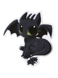 How To Train Your Dragon 2 Toothless Sticker