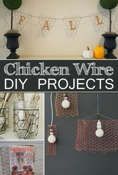 10 Things to Make with Chicken Wire For The Home