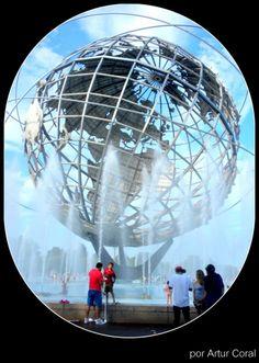 EL PLANETA TIERRA - FLUSHING PARK, QUEENS, NEW YORK. FOTO POR ARTUR CORAL / IPITIMES.COM - PUBLICADA EL 23 DE ABRIL DE 2014. (684×960)