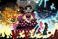 "one of  the four most notorious and most powerful pirate captains in the world, Yonko - Charlotte""Big mom"" Linlin"