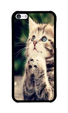 iPhone 5C Phone Case DAYIMM Cute Praying Kitten Black PC Hard Case for Apple iPhone 5C Case DAYIMM? http://www.amazon.com/dp/B017I48XR2/ref=cm_sw_r_pi_dp_PTcowb02PMP8Z