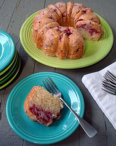 strawberry yogurt cake~ this is the actual blog, not the spam link and it is now my go to yummy cake, so check it out, I promise you will love it too. I used raspberries and organic cane sugar in mine, YUM!