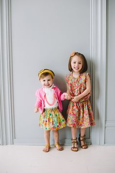 Little girl Easter style, Peek Kids, Crewcuts, Zara, our happiness tour