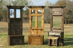 creative entryways | Entry Way Bench - 10 Creative Ways to Repurpose an Old Door