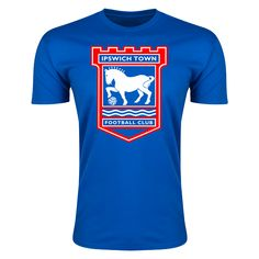 Ipswich Crest Men's Fashion T-Shirt     $17.99   Holiday Gift & Stocking Stuffer ideas for the Ipswich FC fan at WorldSoccerShop.com