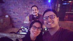#Jueves en #NazcaLounge con mi gordita @miriamvaldez8 y @rojas_dj.  Baila baila baila