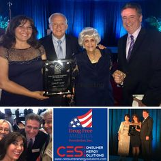 Consumer Energy Solutions's Director of Community Relations, our very own Lynn Posyton, was the proud recipient of the prestigious MOXIE AWARD from Drug Free America Foundation! We couldn't be prouder. Congratulations Lynn! Thank you to the Founders of Drug Free America, Mel and Betty Sembler!  #Drug #Free #DrugFreeAmerica #CES #LetsGetSocial