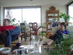 Santiago Noviembre 2004. Con mi sobrino Francisco.