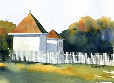 Colonial Williamsburg by Don Gore (dgdraws), via Flickr