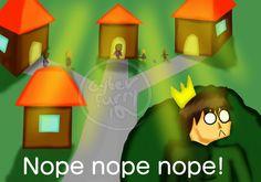 Nope Nope Nope! by CyberFurry10