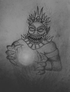 this is my dark art style. Rahu is a shadow entity, one that causes eclipses and is the king of met Sun Art, Sun Moon, Dark Art, Fashion Art, God, Artwork, Dios, Work Of Art, The Lord