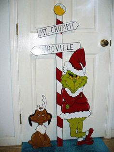 Grinch Christmas Door Decorations Grinch Decorations, The Grinch Door Decoration. Grinch Christmas Door Decorations Grinch Decorations, The Grinch Door Decorations For School, Grinc The Grinch Door Decorations For School, Grinch Christmas Decorations Outdoor, Grinch Decorations, Grinch Christmas Party, Grinch Who Stole Christmas, Christmas Yard Art, Christmas Signs, Christmas Humor, Christmas Themes