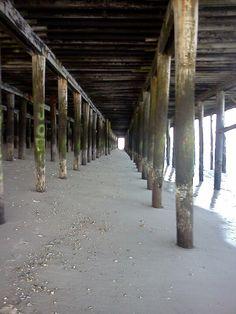 Seaside nj under fun town pier.  2011