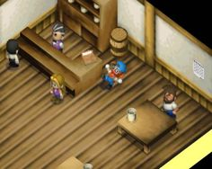 Harvest moon 64 - drinking too much