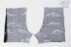 無料パターンとMelly縫うことで5男の赤ちゃんのロンパースステップ