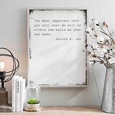 With a unique selection of wall plaques to choose from, Kirkland's is your one-stop shop for wall decorations. Find the wall plaque that speaks to you! Home Quotes And Sayings, Wall Quotes, Quotes About Home, House Quotes, Quotes Quotes, Qoutes, Living Room Designs, Living Room Decor, Living Room Quotes