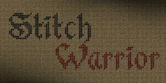 Stitch Warrior Font | dafont.com