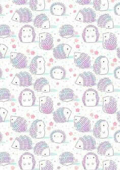 Little hedgies enjoying spring and blossoms phone backgrounds, cute backgrounds, cute wallpapers, spring Cute Backgrounds, Phone Backgrounds, Wallpaper Backgrounds, Spring Backgrounds, Iphone Wallpapers, Cute Wallpapers, Pattern Art, Print Patterns, Pattern Cutting