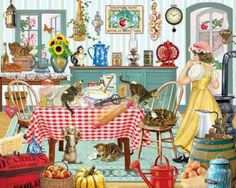 Kittens in the Kitchen (99 pieces)