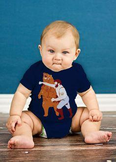 Fancy - Baby Bear Puncher Onesie