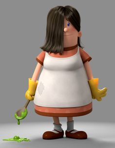 edith by yrainville | Cartoon | 3D | CGSociety