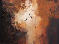 Mel Brigg 'Exodus' 92cm x 122cm Acrylic on Canvas #MelBrigg #ContemporaryArt #Art #AustralianArt #Landscape