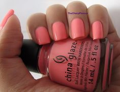 Neons & On & On by China Glaze