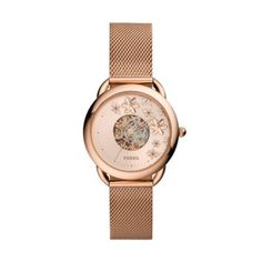 Tailor Automatic Rose Gold-Tone Stainless Steel Mesh Watch This Tailor features a rose gold sunray dial, automatic movement and a rose gold-tone stainless steel mesh bracelet. Smartwatch Features, Mesh Bracelet, Stainless Steel Mesh, Gold Watch, Rose Gold, Watches, Display, Products, Alcohol